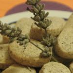 Biscottini integrali ai fiori di lavanda