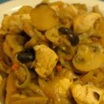 Shirataki pollo e funghi
