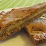 Crostata rustica con crema di ricotta allo zabaione